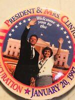 1996 BILL CLINTON HILLARY campaign pin pinback button presidential political