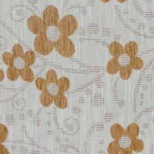 Designer Upholstery Fabric Yellow Chenille Craft Design Curtain Sofa Material UK