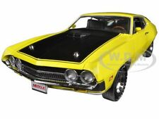 1970 FORD TORINO COBRA 429 CJ HEMMINGS YELLOW LTD 1254PC 1/18 AUTOWORLD AMM1049