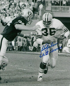 1967 PACKERS Ben Wilson signed 8x10 photo w/ SB II Champs AUTO Autographed