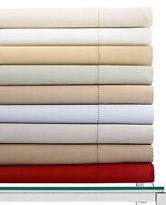 Hotel Collection 600 Thread Count Egyptian Cotton QUEEN Fitted Sheet WHITE D1708