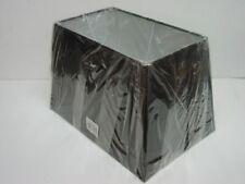 Pantallas de color principal negro de metal para lámparas de interior