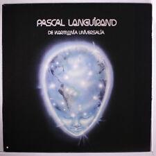 PASCAL LANGUIRAND: De Harmonia Universalia LP (Canada) Rock & Pop