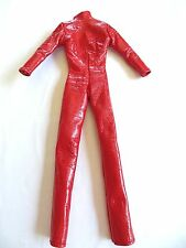 Barbie doll Clothing item Brittany Spear Red Pleather Pant Suit