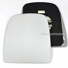 Passenger Side WING DOOR MIRROR GLASS For Iveco Daily 2006-On Clip On New