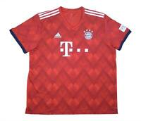 Bayern Munich 2018-19 Authentic Home Shirt (Excellent) XXL Soccer Jersey