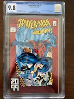 Spider-Man 2099 #1 CGC 9.8 (Marvel 1992)  Origin Miguel O'Hara!  Red foil cover!