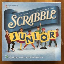 Scrabble Junior Classic Word Game BRAND NEW Sealed Box