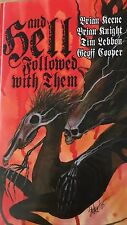 And Hell Followed With Them Brian Keene Geoff Cooper Tim Lebbon Signed Limited