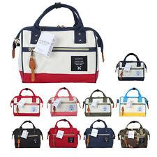 Japan ANELLO Girls Fashion Polyester Oxford Shoulder Bag Handbag Makeup Bag Gift