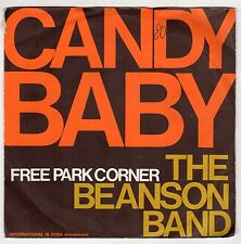 disco 45 GIRI THE BEASON BAND CANDY BABY - FREE PARK CORNER