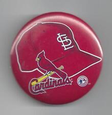 "St. Louis Cardinals Hat ML Baseball 2"" Metal Pin Back"