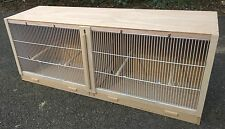 "Double Finch Breeding Cage  38"" x 15 x 12."