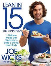 Lean in 15 Shape Plan Diet Muscle Cook Book Healthy Eating Joe Wicks Body Coach