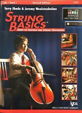 115Co - String Basics: Steps to Success for String Orchestra Cello Book 1, New