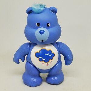Vintage Care Bears Poseable Figure Grumpy Bear 1983 Kenner Blue Rain Cloud