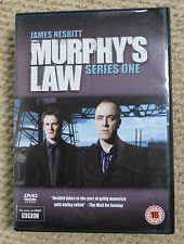 MURPHY'S LAW - SERIES ONE 1 - BBC DVD 3 DISC SET - STARRING JAMES NESBITT