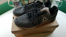 Reebok Speed TR Flexweave Mens Training Shoes Black & White Size 14 WITH BOX