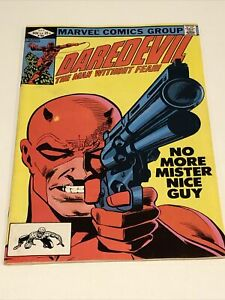 DAREDEVIL # 184 (Marvel Comics 1982) Bronze Age Vintage Key Frank Miller Issue