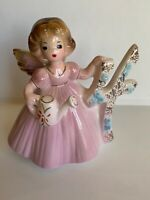 Vintage Age 4 Josef Originals Birthday Angel Girl Figurine Japan Collectible!