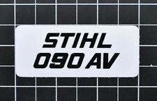"""Vinyl Sticker for Stihl/Farmertec 090 AV Shroud Plate """"Full Overlay"""""""