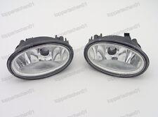 1Pair Clear Fog Lights Bumper Lamps For Honda HR-V HRV 2016-2017
