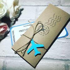 Personalised Surprise Birthday Gift Wallet Invitation Destination/ Men & Women