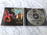 David Bowie Let's Dance CD 1983 DADC PRESS! EMI CDP 546002 RARE! Ziggy Stardust