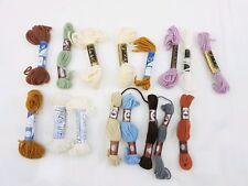 Tapestry Wool Yarn Bundle Of 16