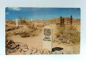 Tombstone Arizona Boothill Graveyard Postcard
