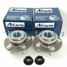 ATP Pair Fit for Ford Falcon Front Wheel Bearing Hubs W/ Nuts Au/ba/bf