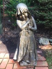 Bronze Garden Statue-Lorann Jacobs, Dallastown, Pa.