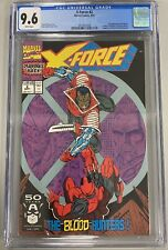 X-FORCE 2 CGC 9.6 2nd APPEARANCE OF DEADPOOL 1st APPEARANCE WEAPON X ROB LIEFELD