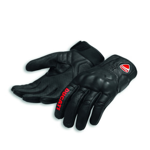 %SALE%  DUCATI Logo C1 Handschuhe aus Leder