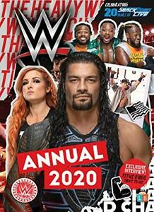 WWE Official Annual 2020 by Little Brother Books Book The Cheap Fast Free Post