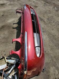2004-2005-06-2007 JAGUAR XJ8 XJ8L XJR SUPER V8 VANDEN PLAS FRONT BUMPER CHB # 2