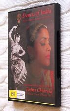 DANCES OF INDIA: BHARAT NATYAM ARANGETRAM DANCES(DVD) R-ALL, LIKE NEW, FREE POST