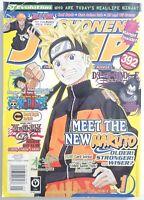 🔥Shonen Jump Naruto Magna January 2008 volume 6 issue 1 Magazine