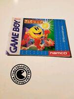 Pac-man - gameboy - nintendo - notice