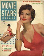 JEANNE CRAIN MONTY CLIFT MOVIE STARS PARADE 1950