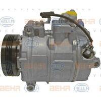 HELLA Kompressor, Klimaanlage BEHR HELLA SERVICE   für BMW 5er 5er Touring