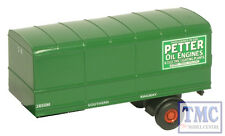 76MH008T Oxford Diecast 1:76 Scale OO Gauge Southern Trailer Pack 2 Piece