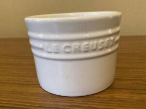Le Creuset Sugar Bowl White No Top