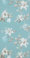 Vlies Tapete Florales Blumen Muster blau türkis creme braun summer breeze 17882