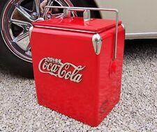 Coca Cola Frigo Rouge Rafraichissant Vintage Glacière Cola Coca Cola Boisson