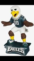 """Philadelphia Eagles Fun Colorful Mascot Statue NEW IN BOX 12"""" Tall"""