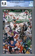 Dark Nights: Death Metal The Last 52 #1 War of the Multiverses 1st Print CGC 9.8