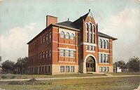 HAMMOND INDIANA WASHINGTON SCHOOL POSTCARD c1911