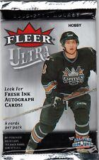 2005-06 UPPER DECK FLEER ULTRA HOBBY PACK FRESH FROM BOX! SIDNEY CROSBY ROOKIE??