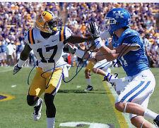 Morris Claiborne LSU Tigers auto signed autographed football photo Cowboys